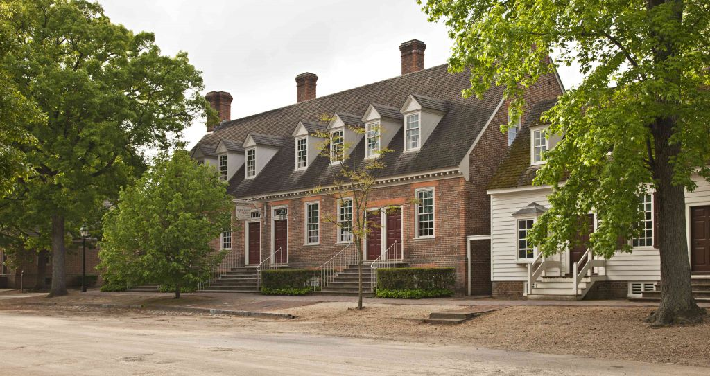 Authentic Colonial Houses in Colonial Williamsburg, VA ...