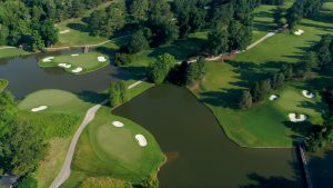 gold course hole 2