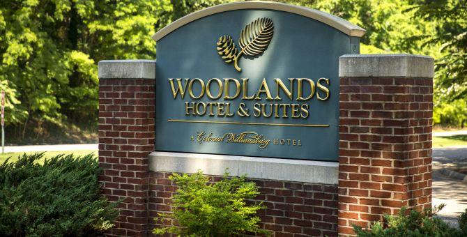 Woodlands Sign