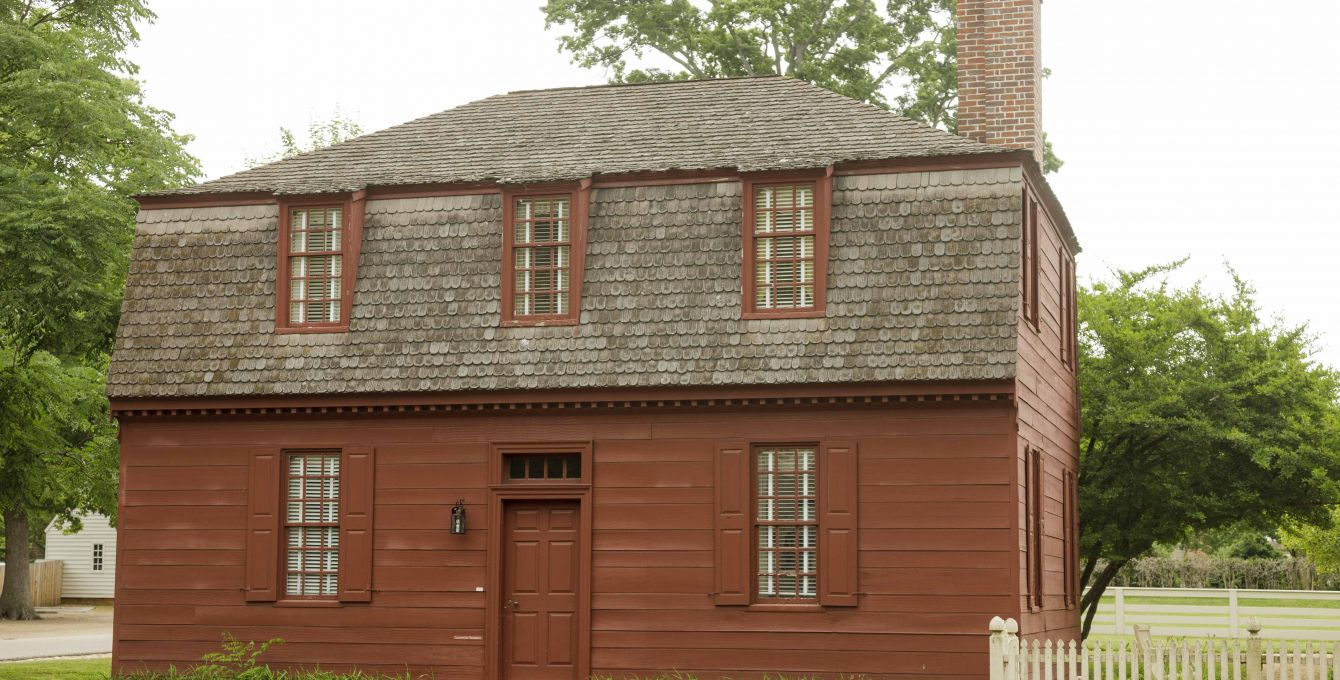 Authentic Colonial Houses in Colonial Williamsburg, VA | Colonial ...