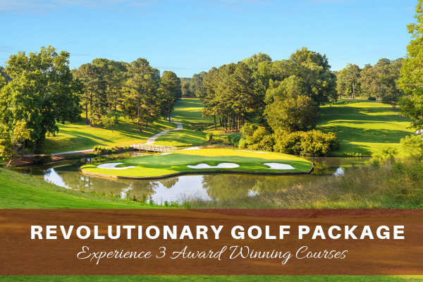 Three Award-winning golf courses