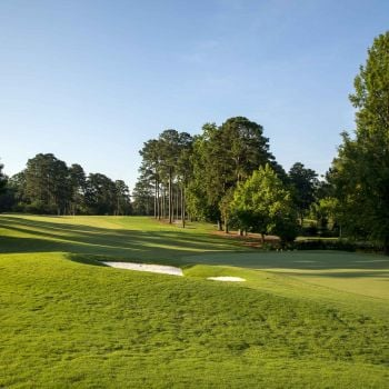 Shot of green on Gold Course at Colonial Williamsburg, VA