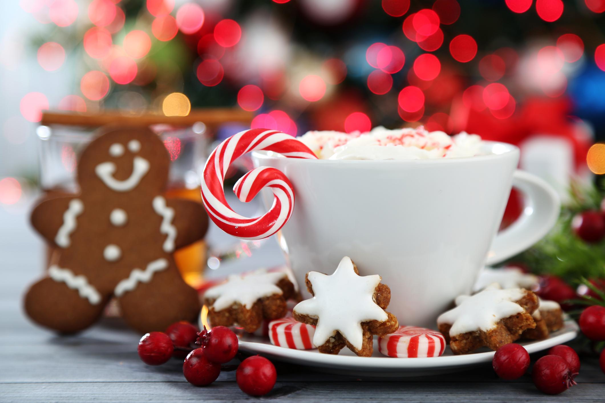 Christmas cocoa & gingerbread man