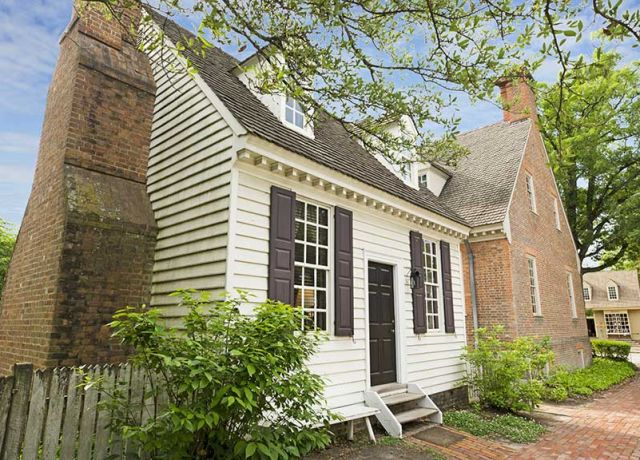 Brick House Shop Colonial House Exterior