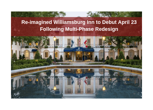 Williamsburg Inn overlooking pond/Redesign Banner