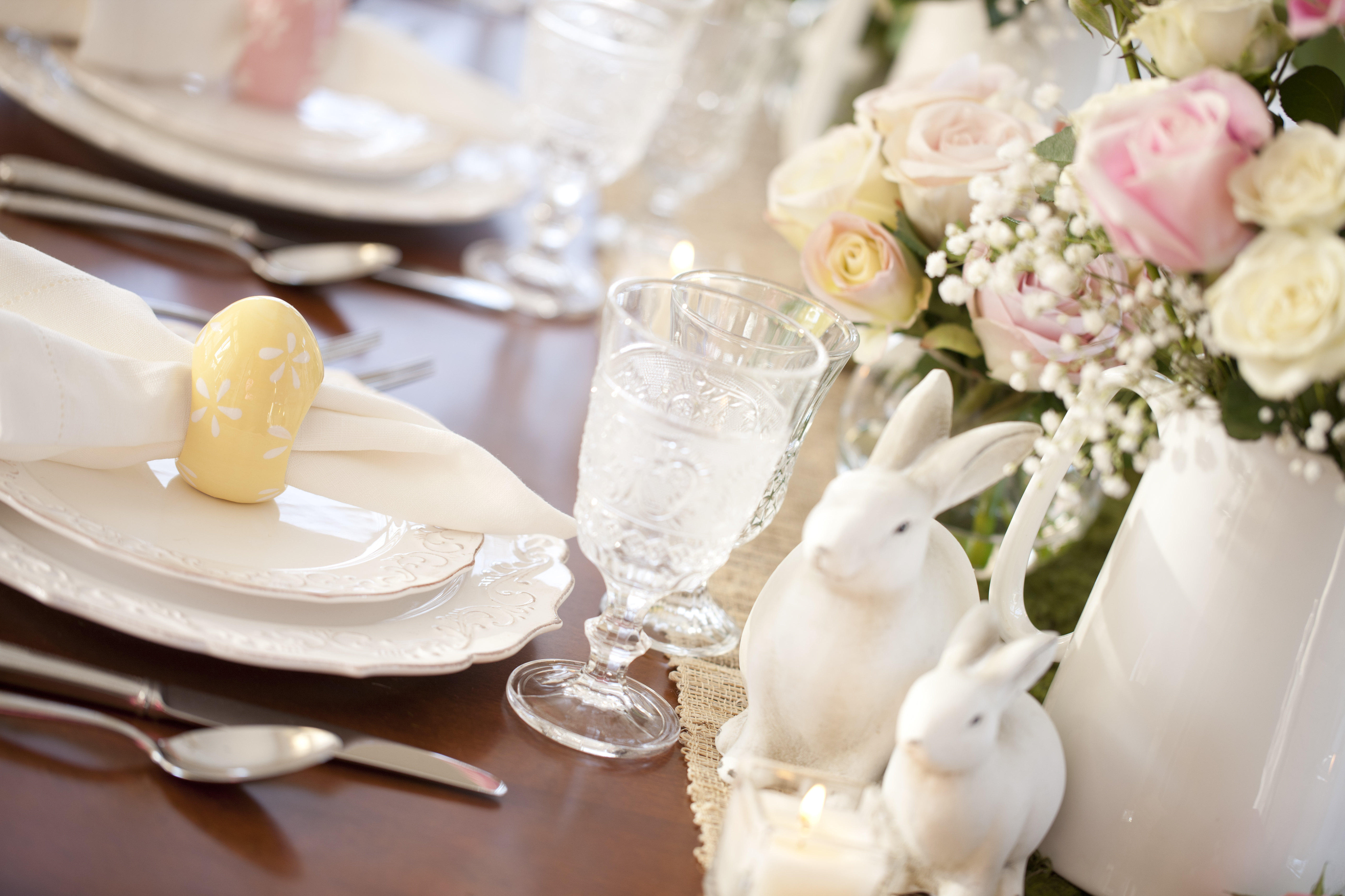 Easter Spring Table